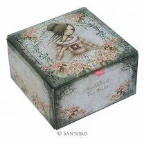 SANTORO LONDON MIRABELLE Glas Schatulle 518EC03 - The Secret
