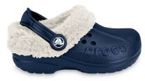 CROCS BLITZEN KIDS - navy / oatmeal