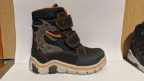 RICOSTA SYMPA-TEX BLINKER Stiefel GRISU - navy / orange / Drache