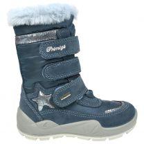 PRIMIGI GORE-TEX Stiefel 63828-66 - azur / eisblau / Glitzer