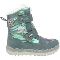 PRIMIGI GORE-TEX Stiefel 63816-44 - eisblau / Schneeflocke / Glitzer