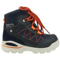 RICOSTA SYMPA-TEX Knöchelschuh  JAGO - denim jeans / orange