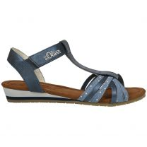 S.OLIVER Sandale 58200-22 - jeans