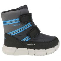 GEOX AMPHIBIOX TEX Stiefel B943PC FLEXYPER - grau / royal