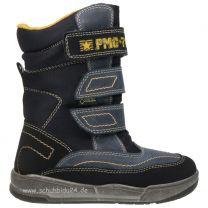 PRIMIGI GORE TEX Stiefel ALCOT - blau / maisgelb