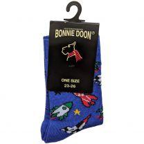 BONNIE DOON Rocket Socken BP053118 - royal / Raketen